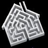 Supreme - Realtors Old Logo House Maze PNG